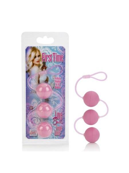 BOLAS ANALES FIRST TIME LOVE BALLS TRIPLE LOVER PINK