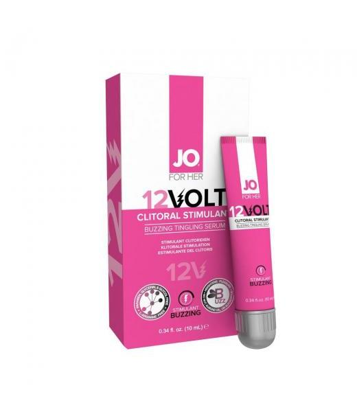 GEL INTENSIFICADOR PARA CLITORIS JO VOLT 12 DE 10 ML