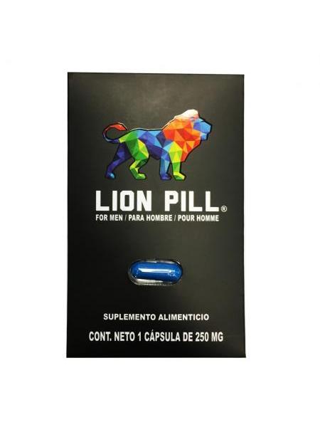 SUPLEMENTO ALIMENTICIO LION PILL